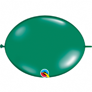 Qualatex Quick Link Balloons - Emerald Green Quick Link Balloons | Free Delivery Available